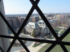 A view from the National Cathedral