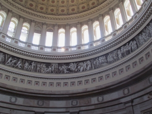 Detail Inside the US Capitol Dome