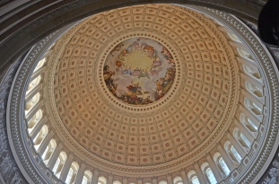 Dome in the US Capitol Building