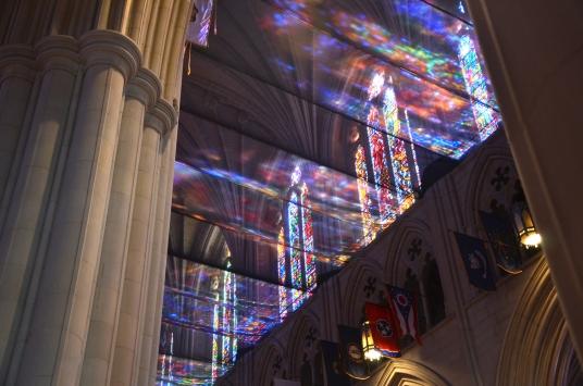 Windows at the National Cathedral, Washington DC