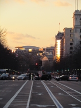 Street Lines at Sunset
