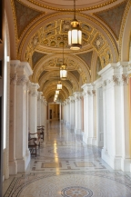 Hallway at the Library of Congress