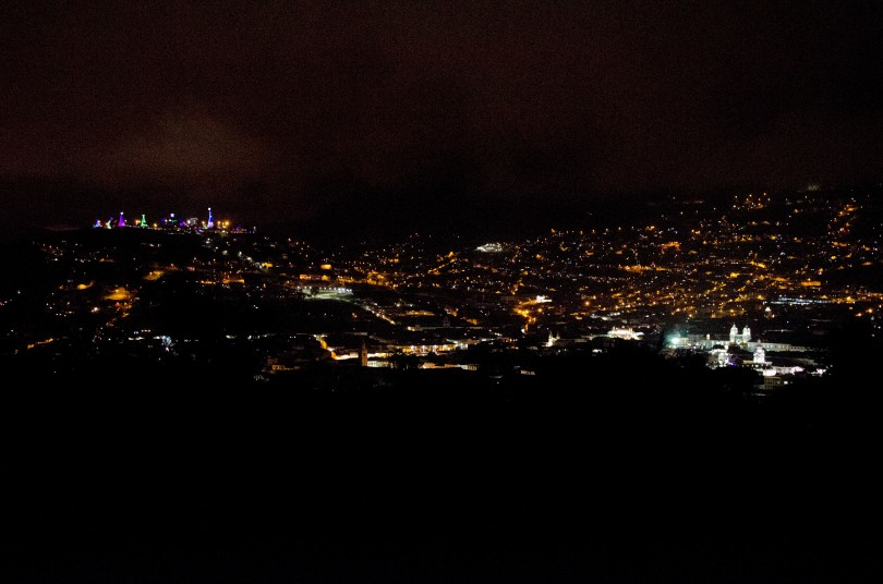 Downtown Quito from the Nacimiento at the Panecillo to the Plaza de la Independencia