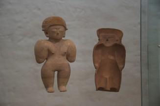 Figure w/ mold; Culture Chorrera (950 - 350 BC)