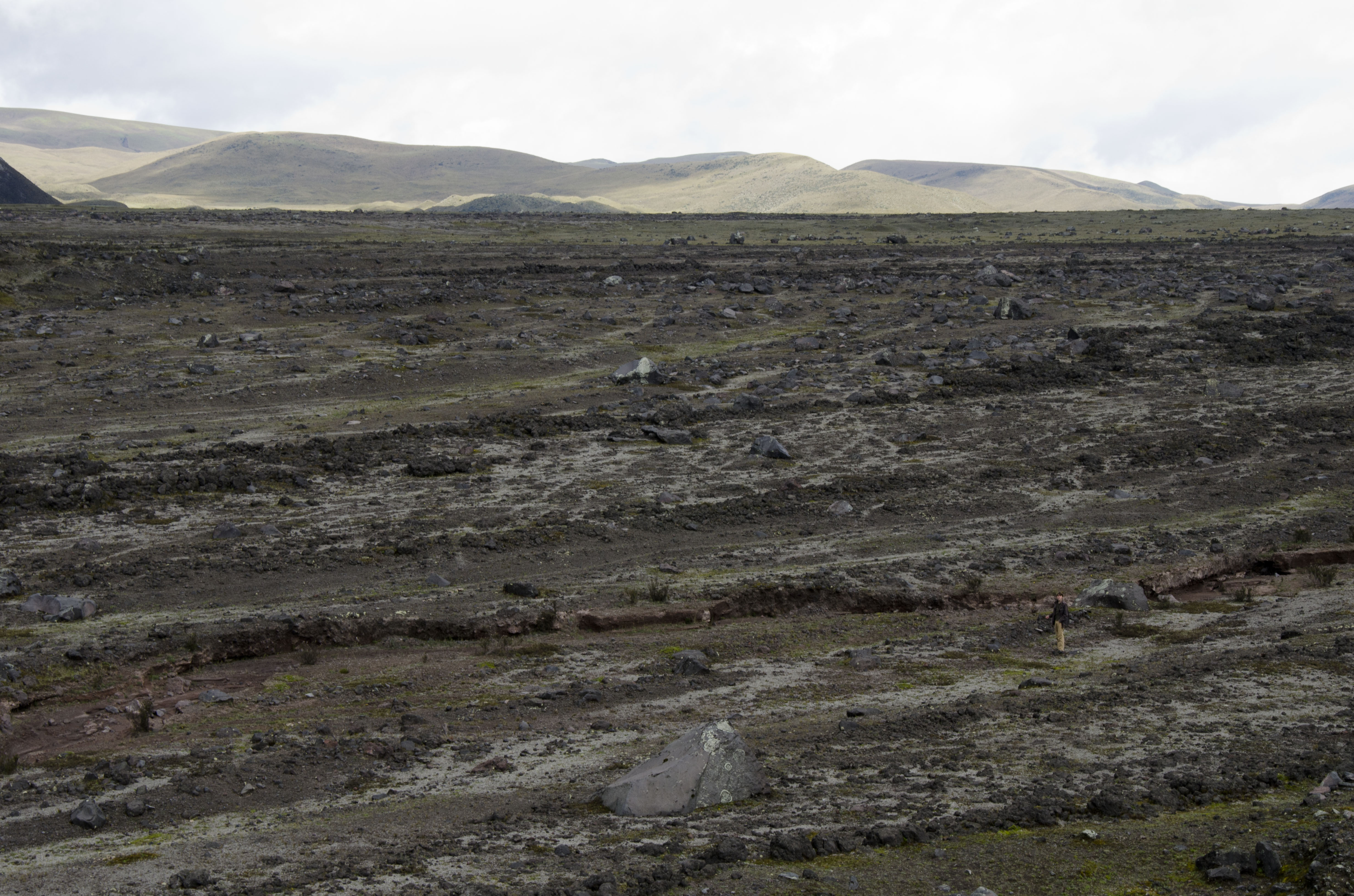 Lava flows on the backside of the park (high clearance vehicle recommended)