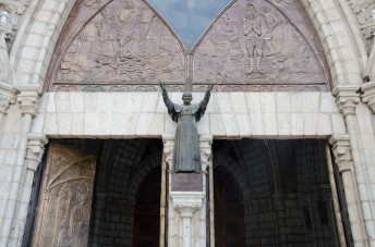 Pope John Paul II blessed the Basilica in 1985