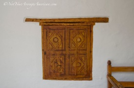 Another example of the fine woodwork found at the Convent.