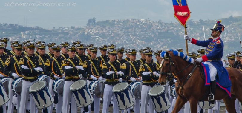 This weekend is full of celebration in Ecuador - military ceremonies and parades to celebrate the Battle of Pichincha, a historic battle in the Spanish-American Wars of Independence.