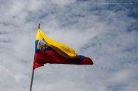 The Ecuadorian Flag.