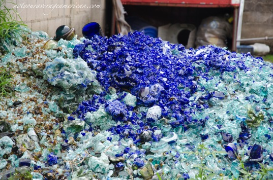 The scrap pile.