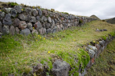 Detail of the walls of Púcara Salitre.