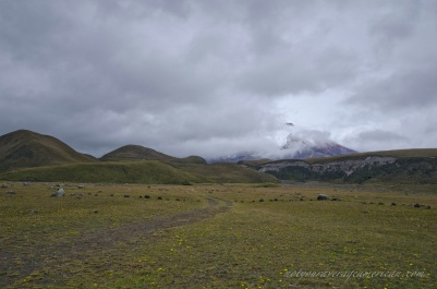 A mere glimpse of the Volcano Cotopaxi is a joy.