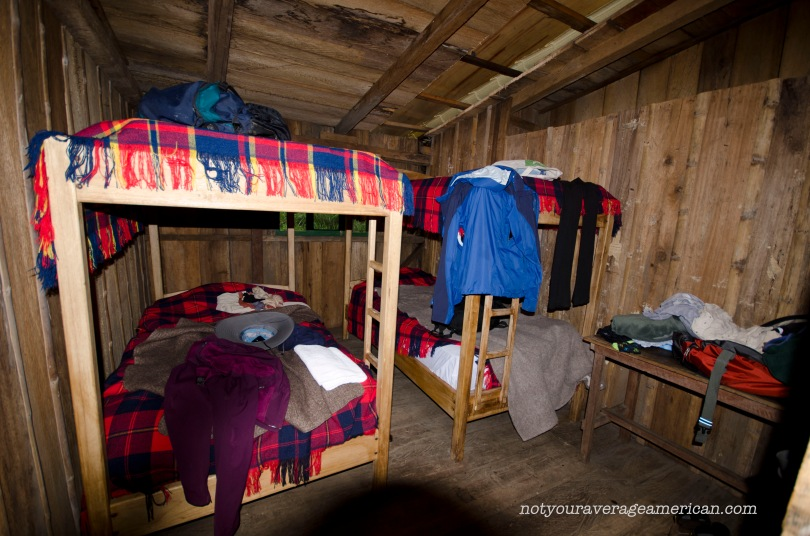 One of the bedrooms at the Bellavista Reserve Scientific Research Station.